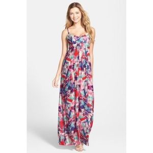 Felicity & Coco Kaleidoscope Maxi Dress Large